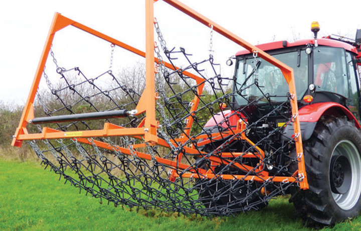 Chain harrows UK sales from Paddock Equipment