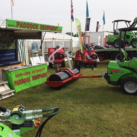 Paddock equipment sales UK delivery